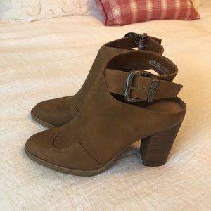 Dolce Vita Booties with Ankle Strap and Buckle